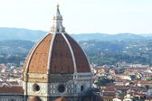 Dome of the cathedral, Florence, Italy — Stock Photo