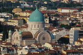 Synagogue of Florence, Itay — Stock fotografie