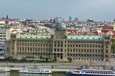 Palace along the river Vltava, Prague, Czech Republic — Stock Photo
