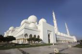 Sheikh zayed mosque, abu dhabi, emirati arabi uniti, medio oriente — Foto Stock