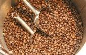 Coffee on grunge — Stock Photo