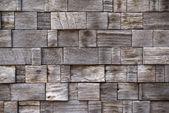 Старые деревянные квадратный узор фона — Стоковое фото