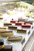 Delicious cakes for sell — Stock Photo