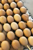 Grilled eggs in fresh market,Thailand — Stock Photo
