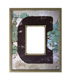 Square vintage art picture frame — Zdjęcie stockowe