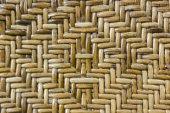 Wooden weave texture — Foto Stock