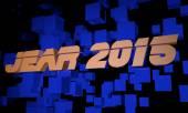 Jear 2015 — Stockfoto