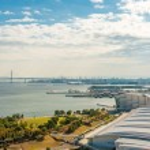 View of Yokohama bay — Stock Photo #60544587