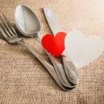 Valentine's Romantic Dinner concept — Stock Photo #62179411