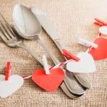 Valentine's Romantic Dinner concept — Stock Photo #62336315