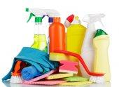čisticí sada položek — Stock fotografie