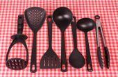Kitchen tableware — Stock Photo