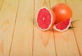 Grapefruits segments — Stock Photo