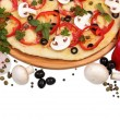 Supreme Pizza with vegetables — Stock Photo #62328713