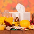Various remedies for cold — Stock Photo #63377543