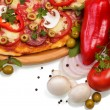 Supreme Pizza with vegetables — Stock Photo #65256769