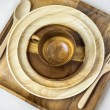 Wooden Tableware — Stock Photo #67165303