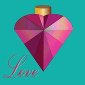 Aşk iksiri — Stok Vektör