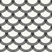 Seamless pattern with waves — Stock Vector