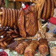 Assorted several kinds of sausages and smoked meats, — Stock Photo #61514511