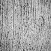 Plasterer concrete at wall — Stock Photo