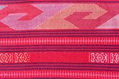 Thai silk fabric pattern — Stock Photo