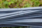 Steel rod for construction job — Stock Photo