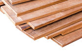 Set of timber for home construction — Stock Photo