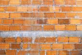 Brick wall construction texture  — Stockfoto