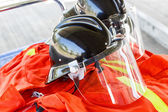 Firefighting turnout gear — Stock Photo