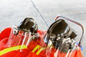 Firefighting turnout gear — Foto Stock