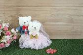 Romantyczny niedźwiedź — Zdjęcie stockowe