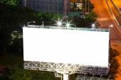Blank billboard for advertisement — Stock Photo
