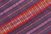 Tissu en soie thaïlandaise — Photo