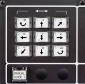 CNC machine control panel — Stock fotografie