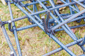 Haste de aço para construção — Fotografia Stock