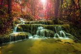 Wonderful waterfall in thailand — Stock Photo