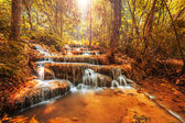 Wonderful waterfall in thailand — Stock Photo