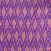 Thai silk fabric pattern — Stock Photo