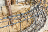 Steel rod for construction job — Stock Photo