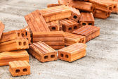 Brick for construction site — Stock Photo