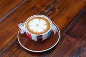 Tasse de café sur la table — Photo
