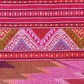 Modèle de tissu de soie thaïlandaise — Photo