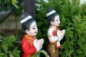 Thai figurines — Stock Photo