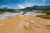 Parque nacional meseta dieng, java, indonesia — Foto de Stock