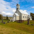 Old wooden Church in Reykholt — Stock Photo #52168967