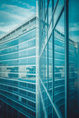 Modern glass building — Stock fotografie