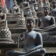 Buddha statues and small stupas in Gangaramaya temple. — Stock Photo #57572541