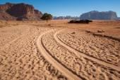 Wadi Rum. Jordan desert — Stock Photo