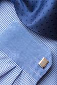 Blue shirt — Stock Photo